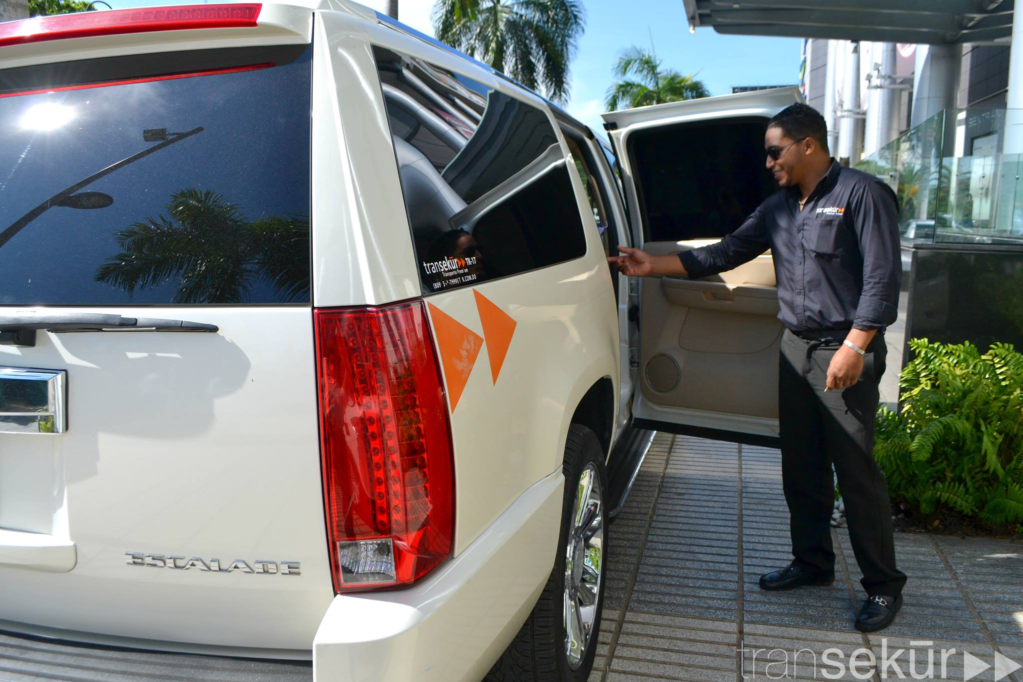 Luxury taxi in Dominican Republic Transekur